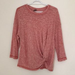 ANTHROPOLOGIE Top with side knot